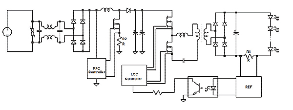 Silicon-MOSFET-LED-driver