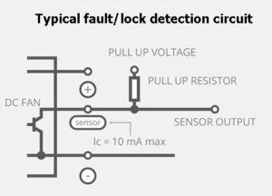 lock detection schematic