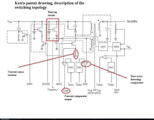 ketra patent description of topology